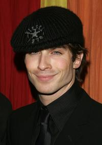 Ian Somerhalder at the afterparty for the opening night of