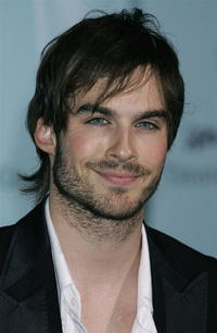 Ian Somerhalder at the launch of Frank Gehry's premiere jewelry collection for Tiffany & Co.