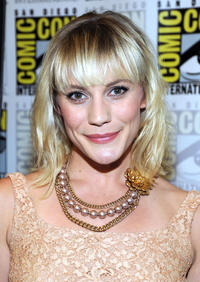 Katee Sackhoff at the press room for