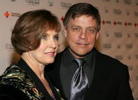 Mark Hamill and wife Marylou Hamill at the 2005 DVD Exclusive Awards.