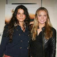 Katja Von Garnier and Agnes Bruckner at the Los Angeles promo screening of