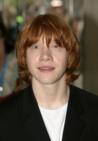 Actor Rupert Grint at the London premiere of