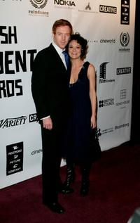 Damian Lewis and Helen McCrory at the British Independent Film Awards.