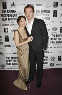 Helen McCrory and Damian Lewis at the British Independent Film Awards.