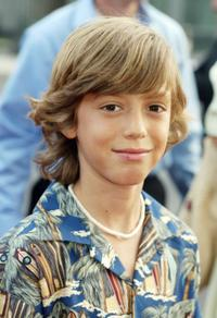 Dylan Smith at the premiere of