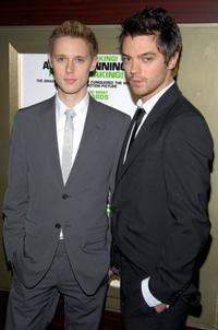 Samuel Barnett and Dominic Cooper at the screening of