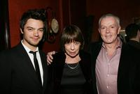 Dominic Cooper, Frances de la Tour and John Barrett at the after party of the special screening of