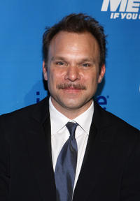Norbert Leo Butz at the after party of Broadway opening night of