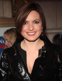 Mariska Hargitay at the Broadway opening night of