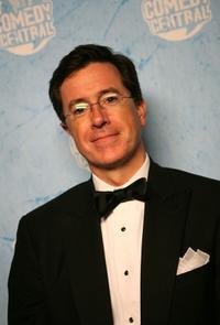 Stephen Colbert at the Comedy Central's 2007 Emmy party.