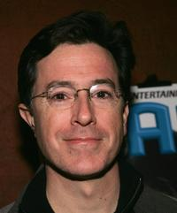 Stephen Colbert at the Sundance party for