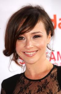 Danielle Harris at the Second Annual Streamy Awards.