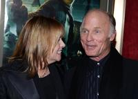 Ed Harris and Amy Madigan at the premiere of