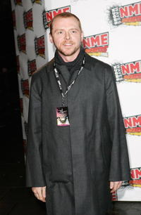 Simon Pegg at the Shockwaves NME Awards in London, England.