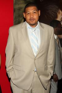 Omar Benson Miller at the premiere of