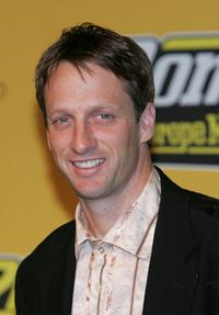 Tony Hawk at the MTV Europe Music Awards 2004.