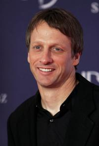 Tony Hawk at the awards ceremony during the Laureus Sports Awards.
