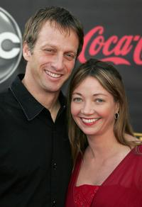 Tony Hawk and Guest at the 2007 American Music Awards.