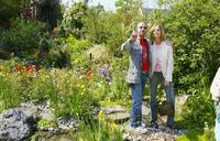 Barbara Bach and her husband beatle Ringo Starr at the 4Head Garden at the annual Chelsea Flower Show.