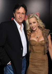 Robert Hays and Cherie Currie at the California premiere of