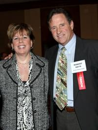 Ilyanne Morden Kichaven and Robert Hays at the Hollywood Chamber of Commerce's Annual Entertainment Industry Luncheon.