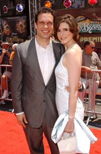Diedrich Bader and his wife Dulcy at the premiere of