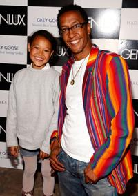 Stella Royo and Andre Royo at the Photographer Marc Baptiste