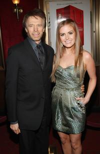 Producer Jerry Bruckheimer and Isla Fisher at the premiere of