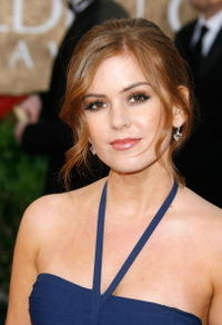 Isla Fisher at the  64th Annual Golden Globe Awards.