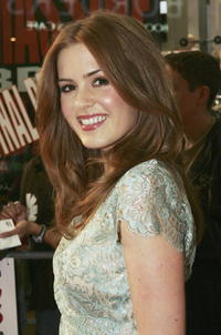 Isla Fisher at the Australian Premiere Of Wedding Crashers.