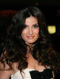 Idina Menzel at the National Multiple Sclerosis Societys Dinner of Champions.