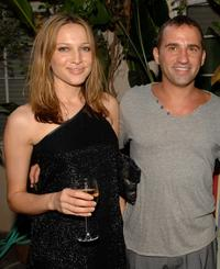 Kate Beahan and Rob Marsala at the Australians In Film party.