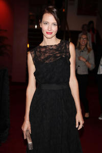 Amy Acker at the premiere of