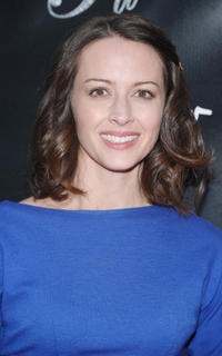 Amy Acker at the Broadway opening night of