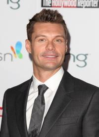 Ryan Seacrest at the Hollywood Reporter's and the Mayor of Los Angeles' Oscar Nominees' Night.