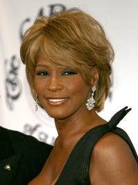 Whitney Houston at the 17th Mercedes-Benz Carousel of Hope Ball in California.