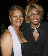 Singer Dionne Warwick and Whitney Houston at the 15th Annual Ella Awards in California.