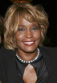 Whitney Houston at the 15th Annual Ella Awards in California.
