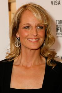Helen Hunt at the Toronto International Film Festival premiere of