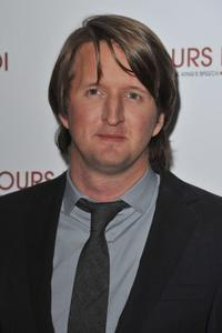 Tom Hooper at the Paris premiere of