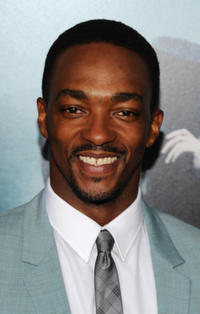 Anthony Mackie at the New York premiere of