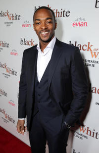 Anthony Mackie at the Los Angeles premiere of