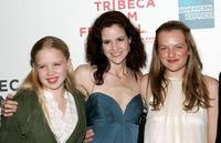 Sofia Vassilieva, Ally Sheedy and Elisabeth Moss at the premiere of