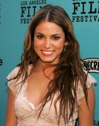 Nikki Reed at the Los Angeles Film Festival premiere of