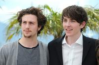Aaron Johnson and Matthew Beard at the photocall of
