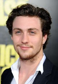 Aaron Johnson at the California premiere of