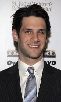 Justin Bartha at the 3rd Annual Runway for Life Benefiting St. Jude Childrens Research Hospital.
