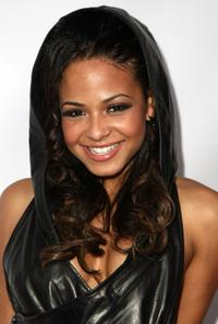 Christina Milian at the opening of DCMA Collective's flagship store.