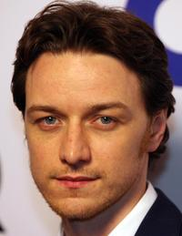 James McAvoy at the 12th annual GQ magazine Men of the Year celebration.