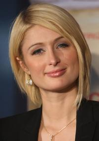 Paris Hilton at the promotion of an alcoholic beverage.